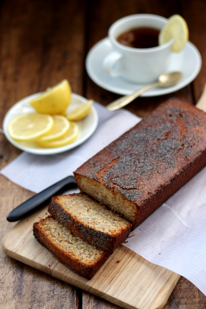 Grain-free Lemon Poppyseed Bread