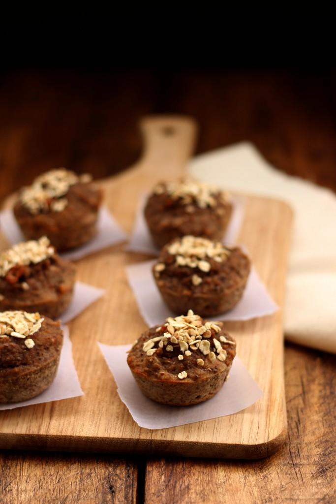 Gluten-free Banana Chia Muffins