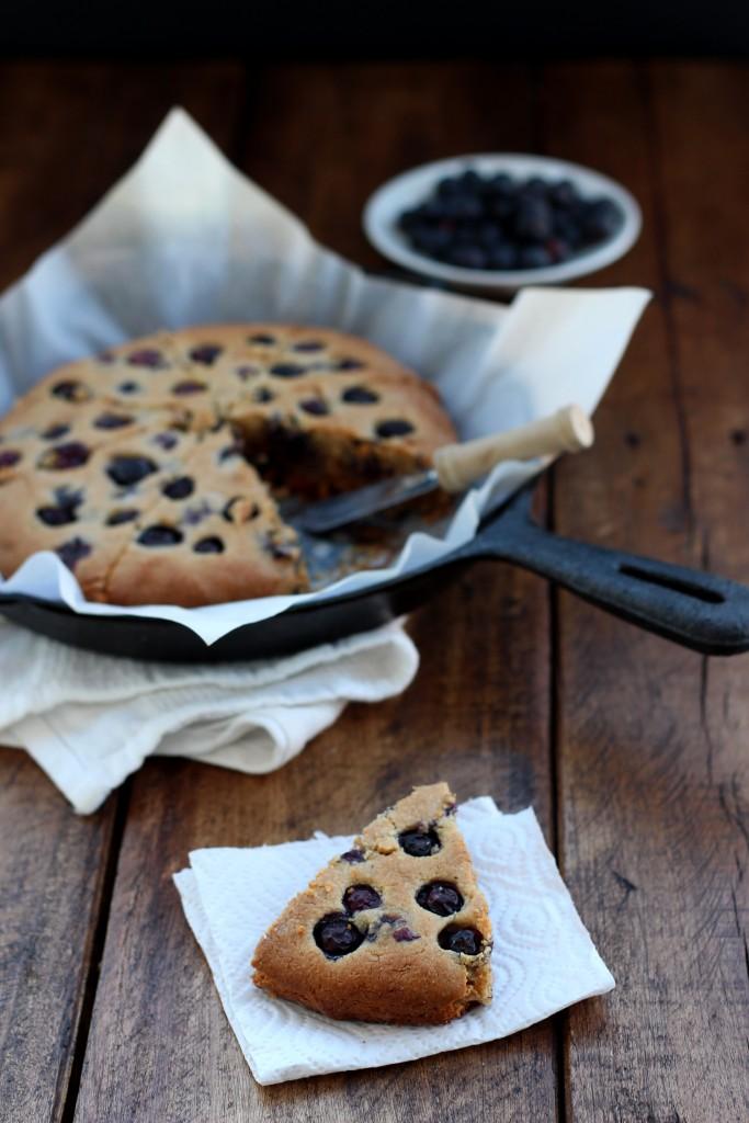 Grain-free Blueberry Cashew Scones