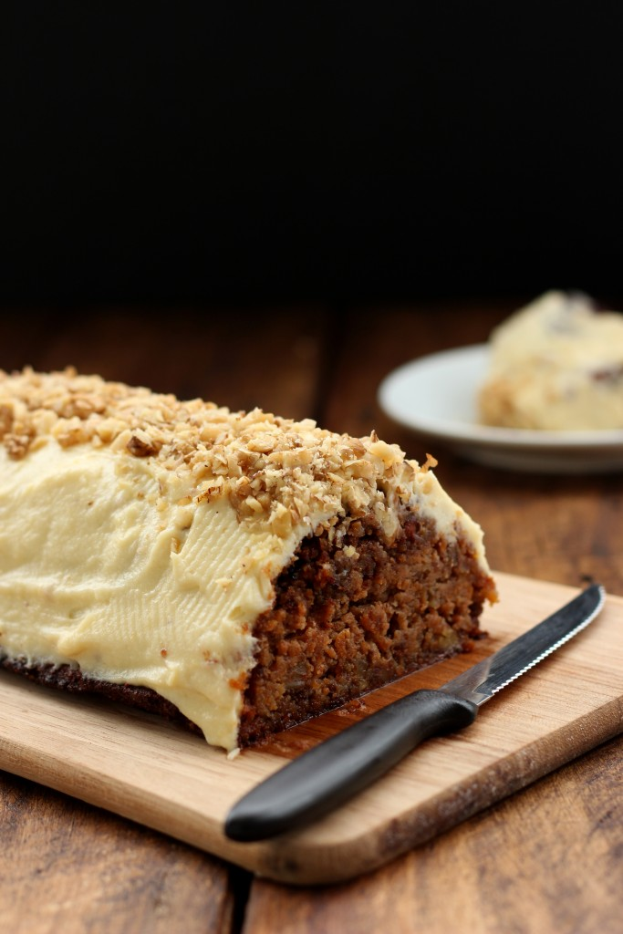 Grain-free Carrot Cake with Cream Cheese Frosting - Dish by Dish