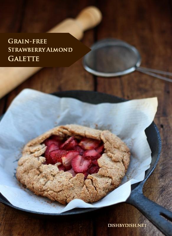 Grain-free Strawberry Almond Galette