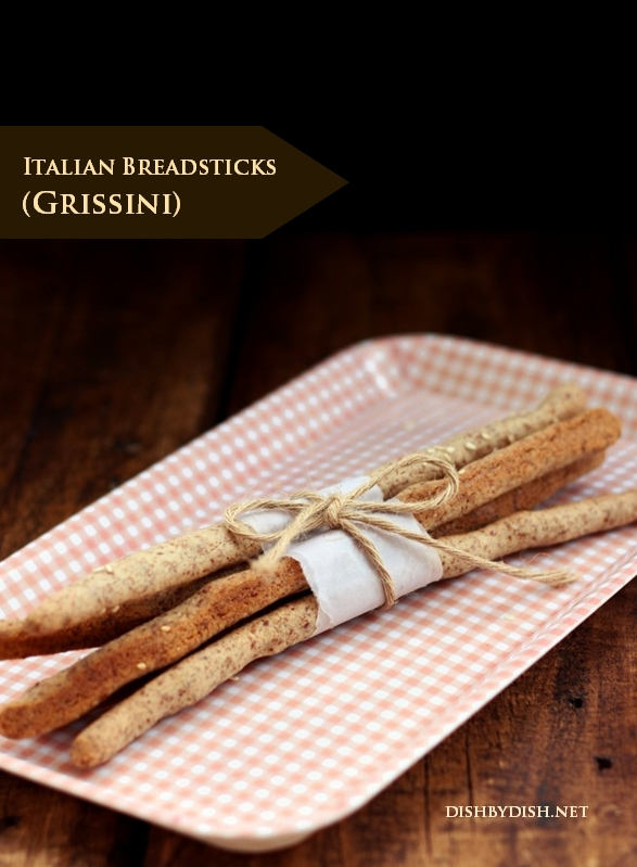 Grain Free Italian Breadsticks Grissini Dish By Dish