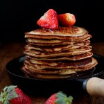 Grain-free Yogurt Almond Pancakes