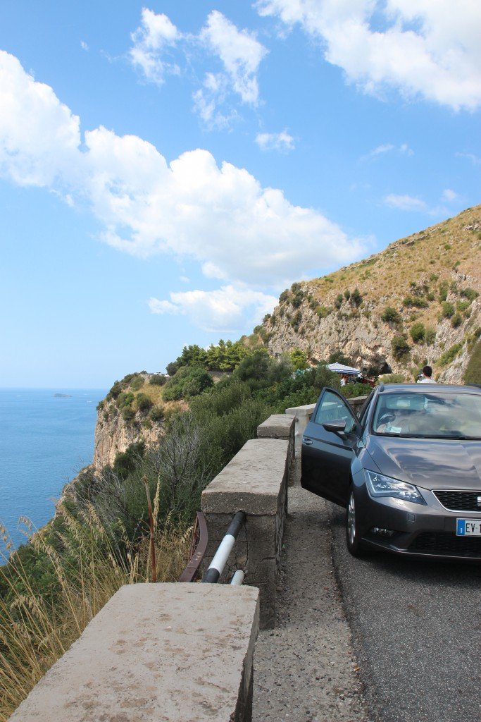 Driving along the Amalfi Coast