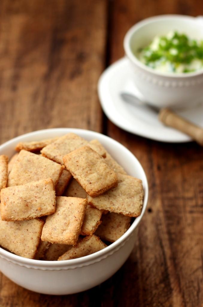 Grain-free Cheese Crackers