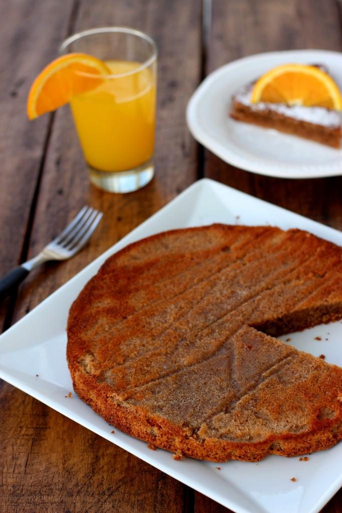 Grain-free Walnut Orange Cake