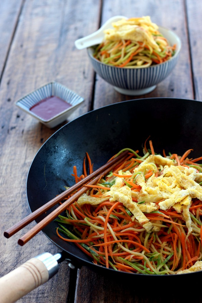 Stir-fried Egg Vegetable Noodles