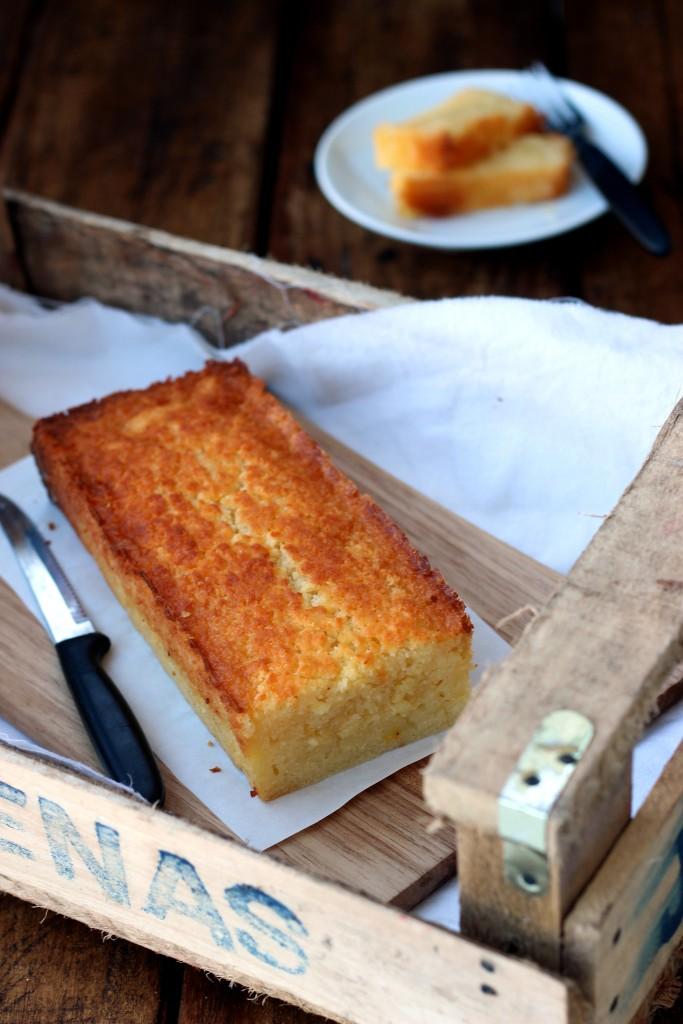 Gluten-free Lemon Ricotta Bread