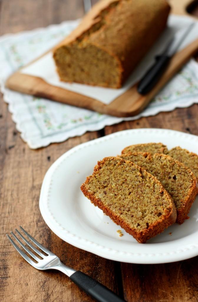 Grain-free Pistachio Bread