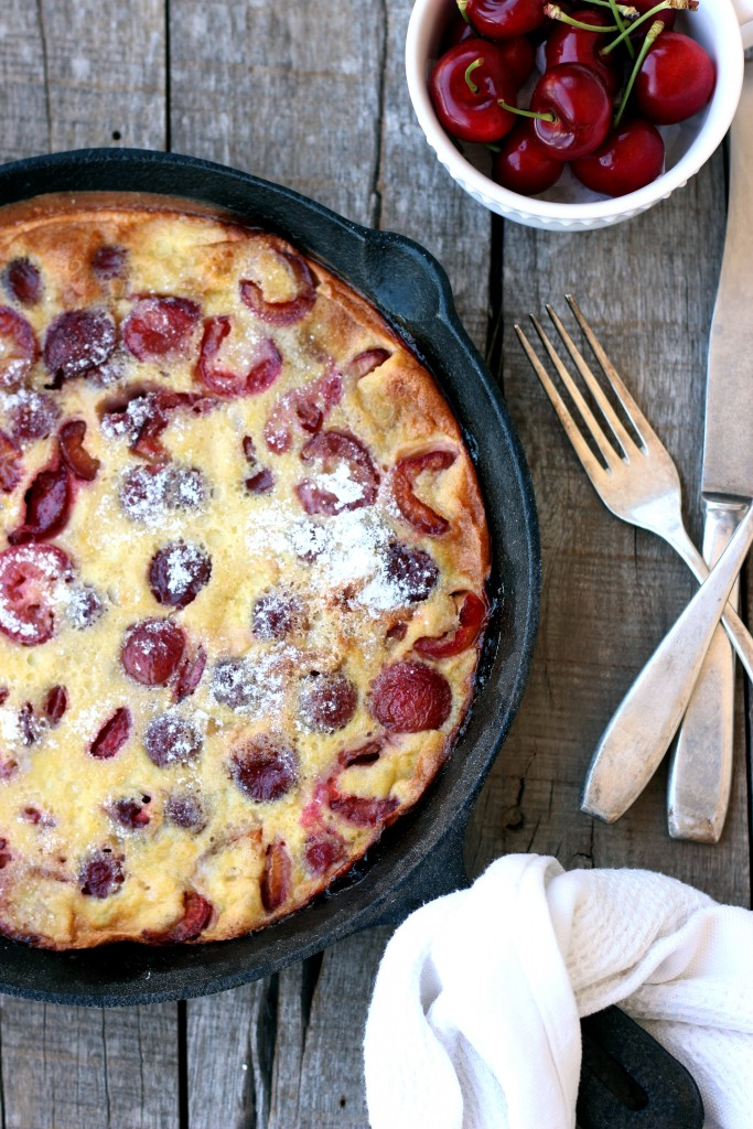 Gluten-free Cherry Clafoutis - Dish by Dish