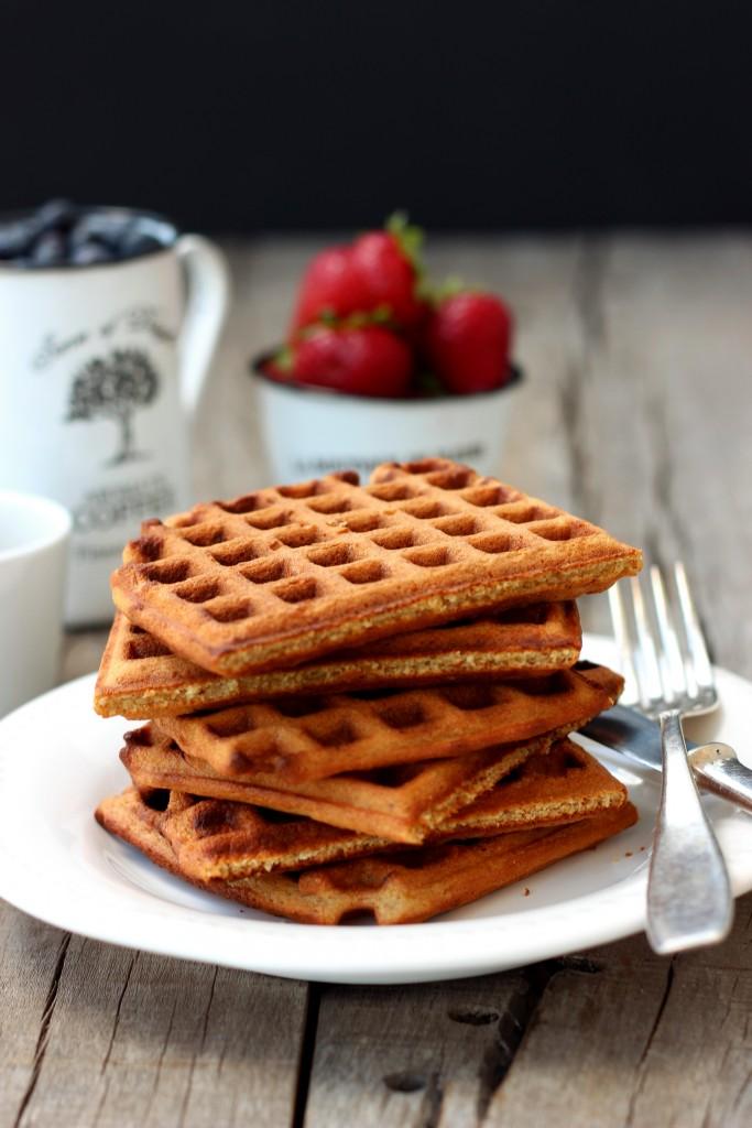 Gluten-free Oat Waffles