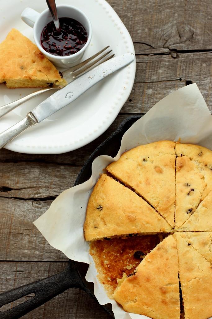 Gluten-free Raisin Scones