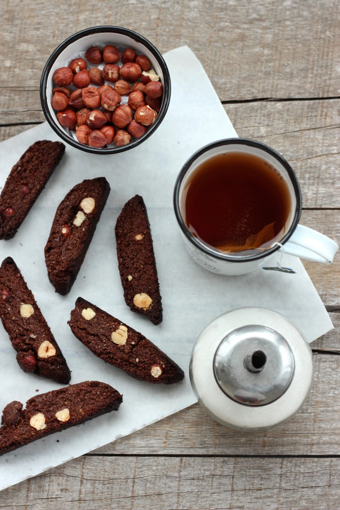 Grain-free Chocolate Hazelnut Biscotti - Dish by Dish