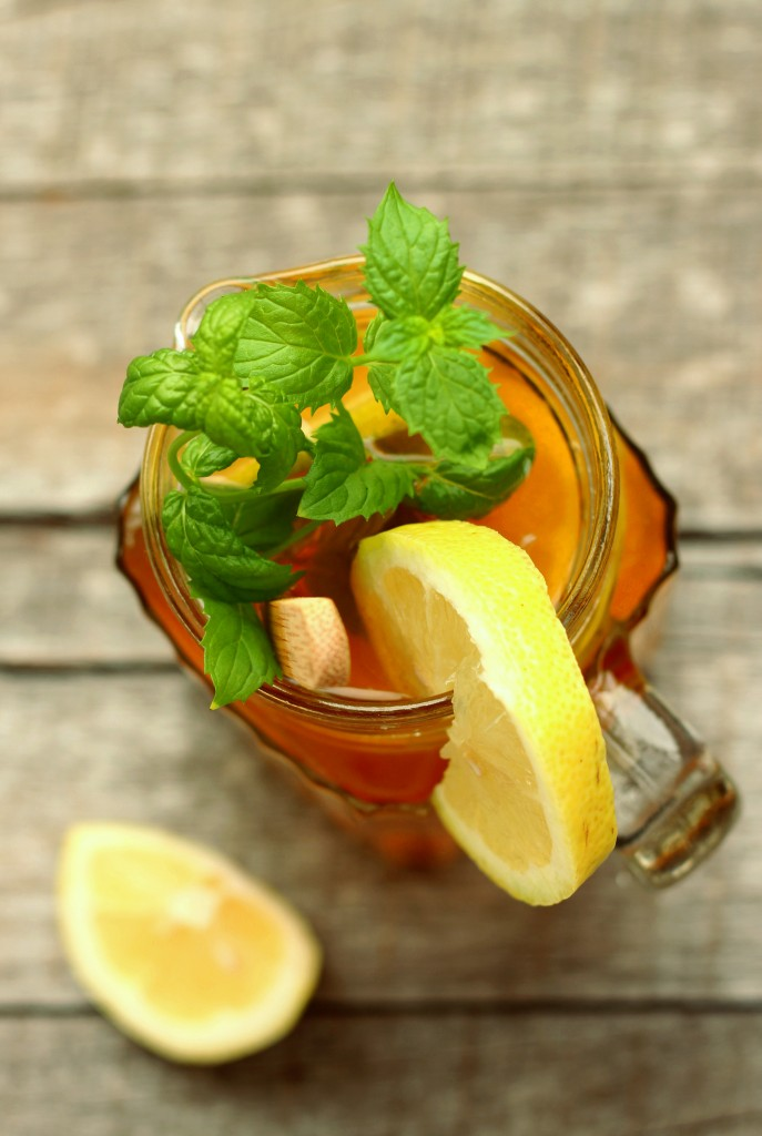 Honey Mint Lemon Tea
