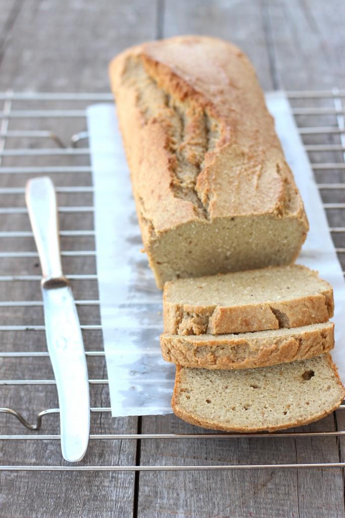 Grain-free Coconut Cashew Bread