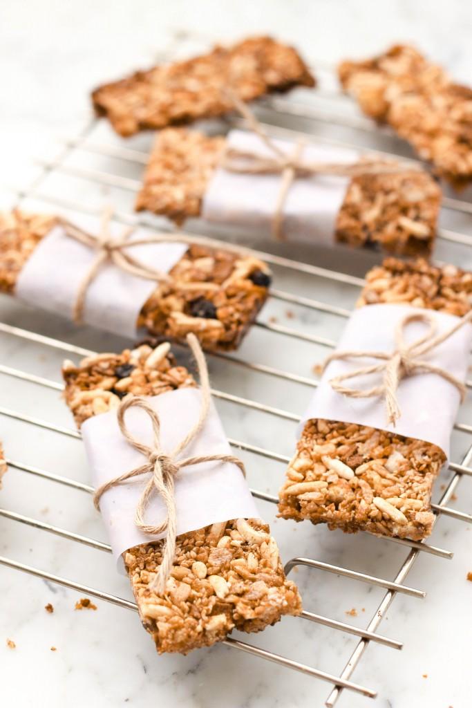 Crunchy Gluten-free Granola Bars