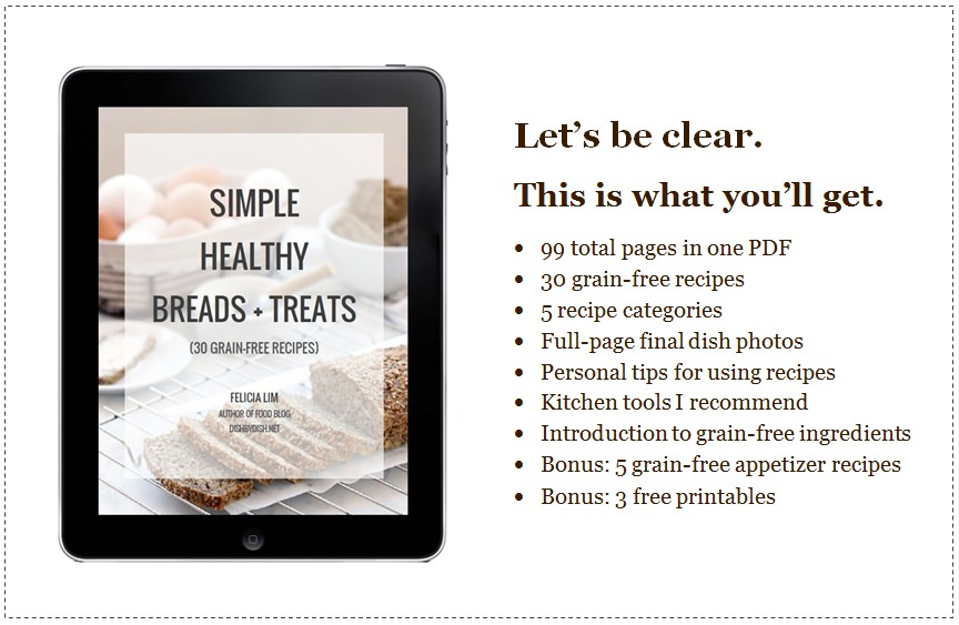 Simple Healthy Breads & Treats (E-Cookbook)
