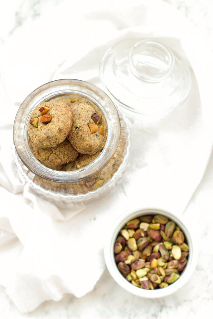 Grain-free Pistachio Cookies