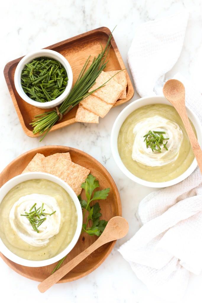 Cream of Potato & Herb Soup