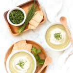 Cream of Potato & Herb Soup