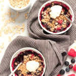 Gluten-free Mixed Berry Crisp