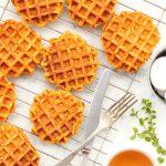 Easy Pumpkin Waffles (Gluten-Free, Dairy-Free)