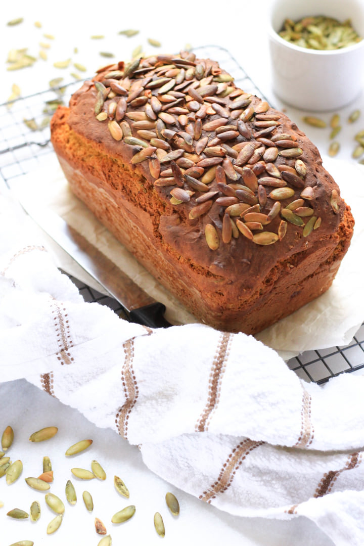 Super Moist Gluten-free Pumpkin Bread - Dish by Dish