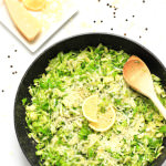 Shaved Brussels Sprouts with Lemon & Parmesan