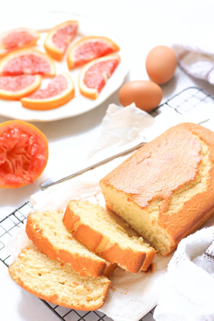 Gluten-free Blood Orange Yogurt Cake - Dish by Dish