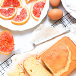 Gluten-free Blood Orange Yogurt Cake