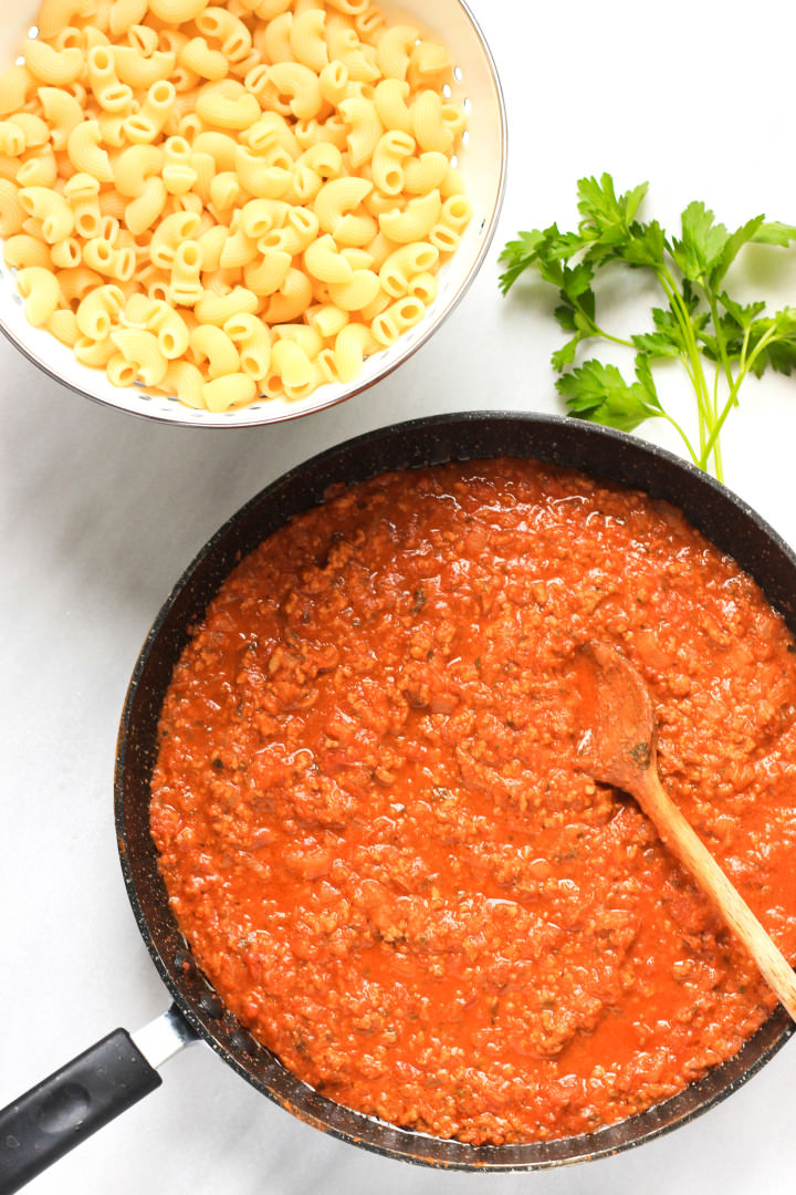 Gluten-free Macaroni and Beef