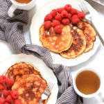 Coconut Flour Pancakes (Gluten-Free, Dairy-Free)