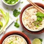 Easy Vietnamese Chicken Pho