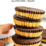 Pinterest image for PB cups