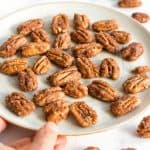 Easy Candied Pecans Recipe (Gluten-Free, Vegan)
