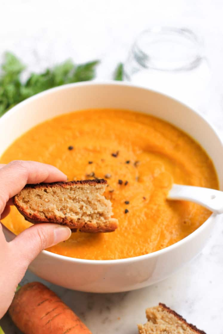 Carrot Turmeric Soup