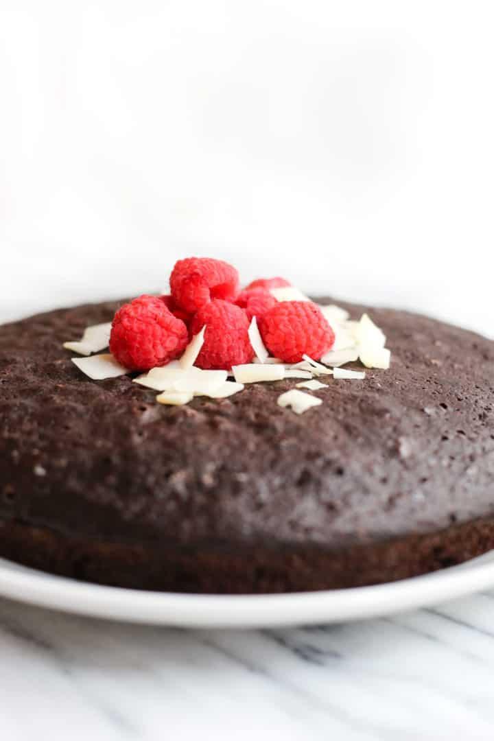 Chocolate Coconut Cake (Gluten-Free, Dairy-Free)