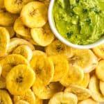 Crispy Air Fryer Plantains (Gluten-Free, Dairy-Free, Vegan)