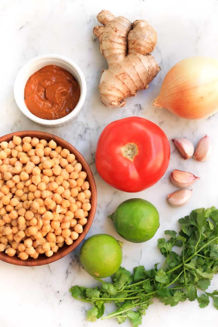 Easy Chickpea Curry (Gluten-free, Vegan)