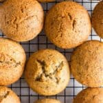 Easy Flaxseed Muffins (Gluten-Free, Dairy-Free)