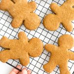 Easy Gingerbread Cookies (Gluten-Free, Dairy-Free)