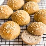 Fluffy Low Carb Buns (Gluten-Free, Dairy-Free)