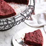 Fudgy Chocolate Beetroot Cake (Gluten-free, Vegan)