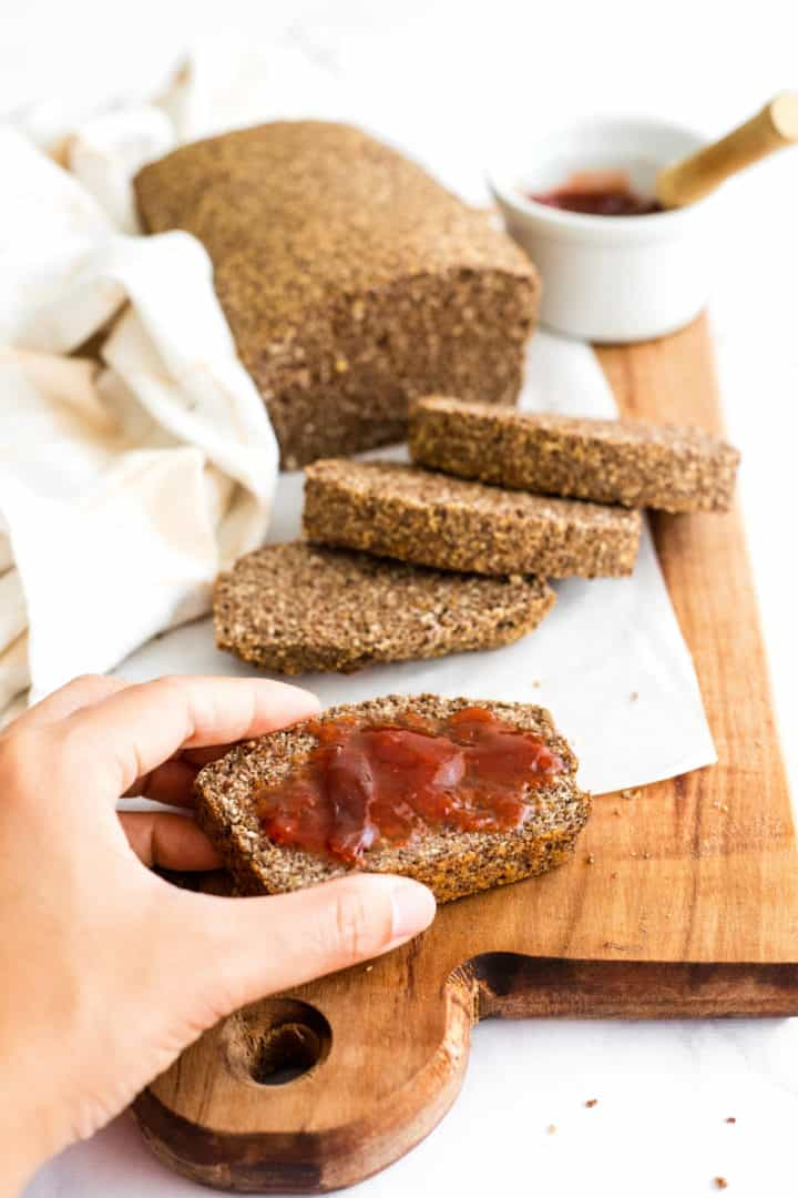 Gluten-Free Flaxseed Coconut Bread