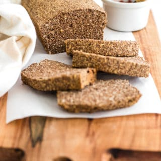 Gluten-Free Flaxseed Coconut Bread