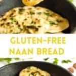Easy Gluten-Free Naan Bread (Dairy-Free)