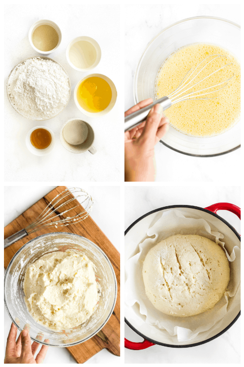 Gluten-Free No Knead Bread Step by Step
