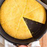 Easy Skillet Cornbread (Gluten-Free, Dairy-Free)