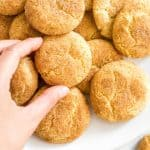 Easy Snickerdoodle Cookies (Gluten-Free, Dairy-Free)