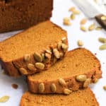 Gluten-Free Pumpkin Bread (Dairy-free, Vegan)
